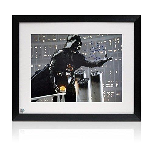 Gerahmte Darth Vader Star Wars signierte Foto: Ich bin dein Vater (blaue Signatur) Autogramm Sport-memorabilien