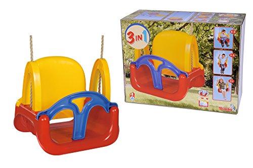 Simba - Columpio infantil 3 en 1, colores surtidos