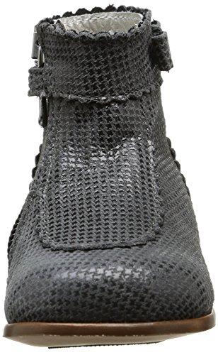 Little Mary Romy, Chaussures Premiers pas bébé fille Gris (Pied Poule Poivre)