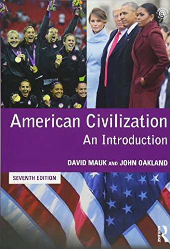 American Civilization An Introduction -7ª Edition por John Oakland