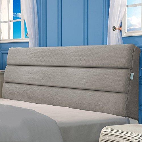 Jxxddq comodino comodino cuscino grande letto matrimoniale schienale divano letto vita cuscino in stoffa cuscino morbido cuscino multifunzione, sfoderabile e lavabile, 6 colori, 9 dimensioni optional