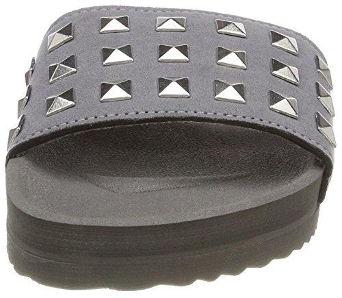 flip*flop Damen Poolrivet Offene Sandalen Grau (Steel)