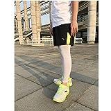 WYM Sommer Sonnenschutz Beinschutz UV Anti-Rutsch-Radsport-Ärmel Icy Outdoor-Lauf Beinschutz Sport Leggings,Gray,XL