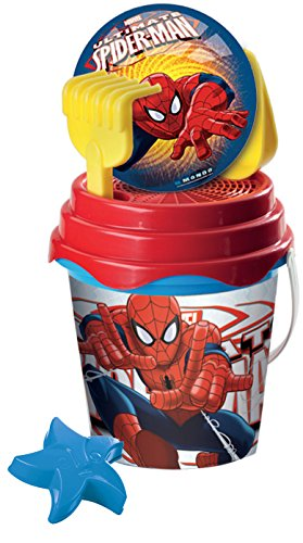 Mondo 18632 - Set da Spiaggia Ultimate Spiderman Bucket Set