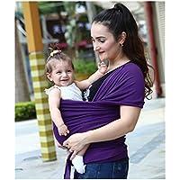 980995710df Quner Baby Wrap Carrier Stretch Cotton Sling Wrap Sling pour nouveau-né à  35lb porte
