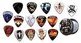 Metallica 15 X Guitar Médiators Picks with Tin ( Gold Range Plectrums )