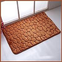 Corallo velluto tessuto Mats, Sala antiscivolo Pad Bagno Cucina Bagno