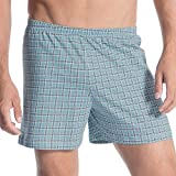 Calida Herren Boxershorts Prints, Blau (Smoke Blue 544), Large
