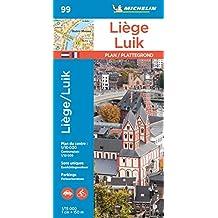Michelin Lüttich: Stadtplan 1:15.000 (MICHELIN Stadtpläne)