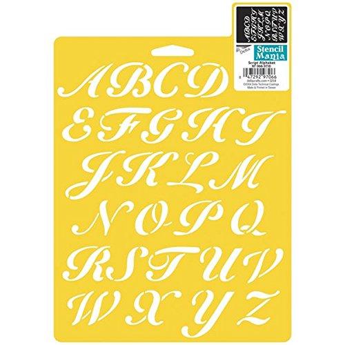 delta-creative-stencil-mania-stencils-7-by-10-inch-970660710-script-alphabet