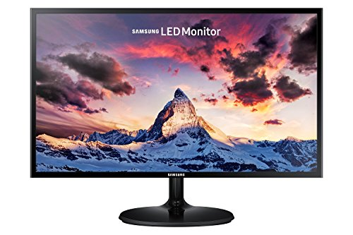 "Samsung S24F350 Monitor 24"" Full HD, 1920 x 1080, 60 Hz, 4 ms, D-Sub, HDMI, Pannello PLS, Nero"