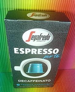 Order Segafredo Espresso Per Te Decaffeinato 10 Capsules Compatible With Machines Inissia,prodigio,pixie,citiz,u,lattissima, - SEGAFREDO
