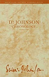 A Dr Johnson Chronology (Author Chronologies Series) by Norman Page (1990-11-11)