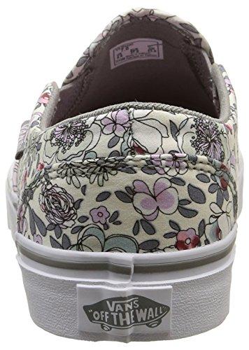 Vans Asher - Scarpe da Ginnastica Basse Donna Multicolore (vintage Floral/gray/lavender)