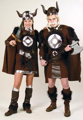 Barbaren Kostüm König - Gurimo-tex 29742 - Hunne Oberteil, Stulpen und Helm Größe: 52
