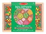 Melissa & Doug Holzperlen-Set Flower Power