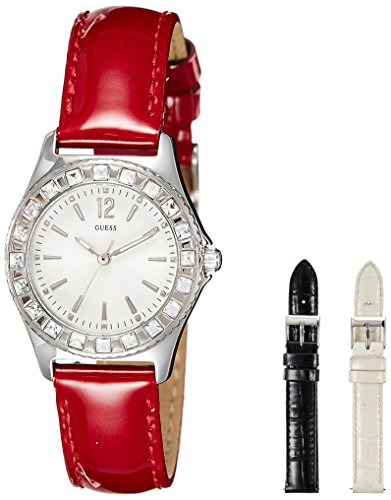GUESS Analog White Dial Women's Watch - W0092L1 image