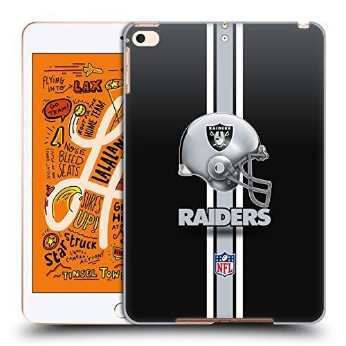 fizielle NFL Helm Oakland Raiders Logo Harte Rueckseiten Huelle kompatibel mit iPad Mini (2019) ()