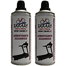 2 Lubricante spray cinta de correr 400 ml