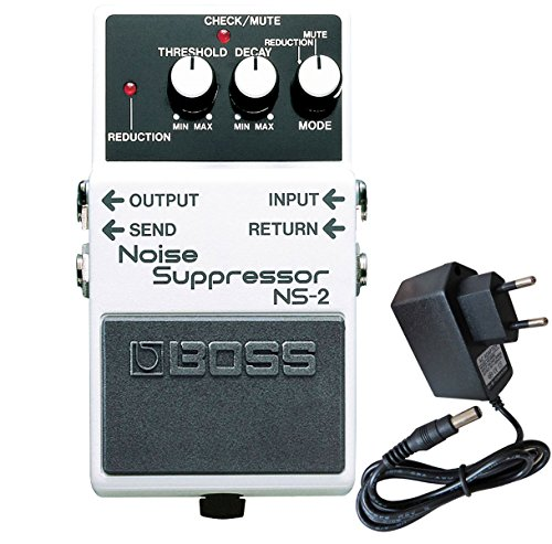Boss NS de 2 Noise Suppressor Keepdrum Fuente 9 V