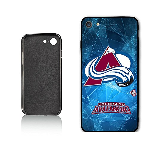 SYSJK Phone Hülle Colorado Hülle 1 Avalanche 2 for iPhone 7 iPhone 8 Generation,PC Material Never Fade Colorado Avalanche Iphone