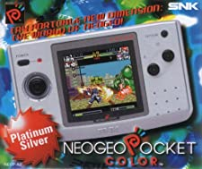 Console SNK Neo-Geo Pocket Color Argent