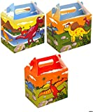 20 Dinosaur Design Children's Birthday Party Treat Boxes