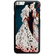 Generic Cell Phone Case for Funda iphone 6 6S 4.7 inch Black Cruella de Vil 101 Dalmatians D2W1SJ