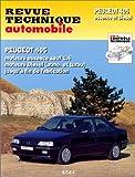 Peugeot 405 moteurs essence sauf 1.4, moteurs Diesel tous modèles jusqu'à fin de fabrication