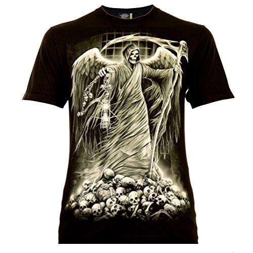 -Shirt Schwarz Gr. M Glow in The Dark ()
