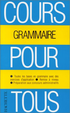 Cours pour tous : la grammaire