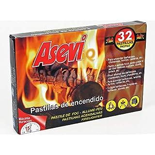 Balmul Asevi IQ fire pads firelighter 32pcs
