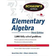 Schaum's Outline of Elementary Algebra, 3ed (English Edition)