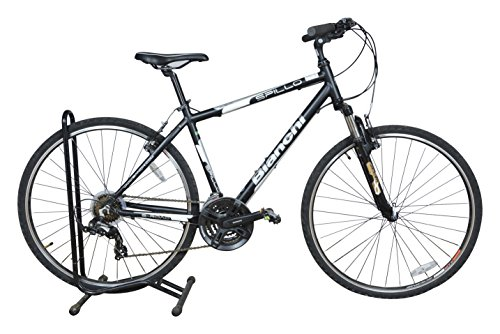 Bianchi Spillo Rubino UMO V Brake 21Speed 1FPB06G0589000A Unisex Bicycle, 700 Inches (Black) M