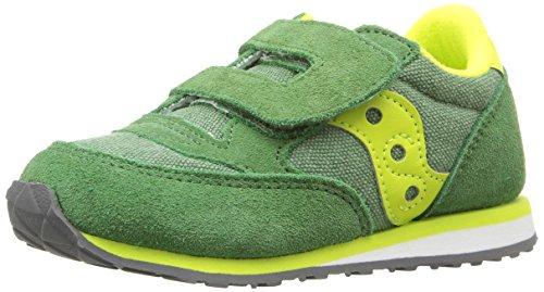 SAUCONY ST56369 JAZZ HL grün Babyschuhe reißen Green Yellow