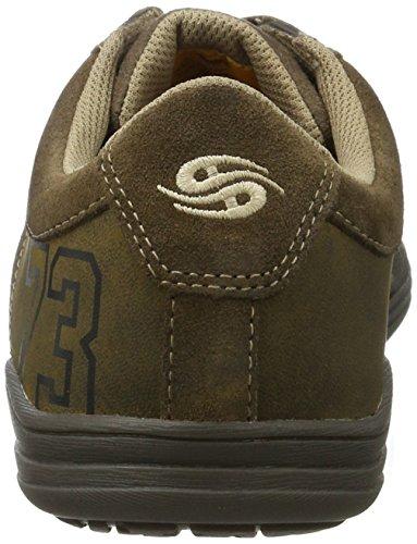 Dockers coole Herren Synthetik Sneakers grau, Dockers