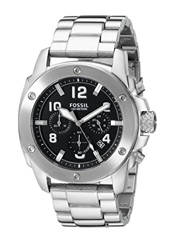 Fossil Gents Watch Chronograph Quartz Stainless Steel FS4926 XL
