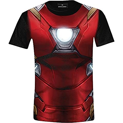 Iron Man T-shirt Costume - Captain America: Civil War - Iron-Man Costume