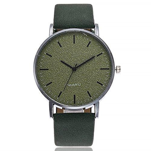 Uhren Damen Sportuhr Mode Chimes Diamond Uhrenarmband Luxus Lederarmband Frauen Armbanduhr Klassisch Uhr Exquisit Analoge Uhr,ABsoar (Frauen Uhr Cartier)