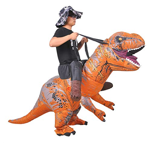 JASHKE Giro in Costume Deluxe T-Rex on Costume da Dinosauro