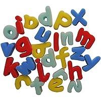 Abc-Formine in spugna per pitturare, 26 lettere minuscole a to z spugne