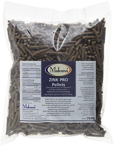 Makana Zink PRO Pellets mit Vitamin E, 750 g Beutel (1 x 0,75 kg)