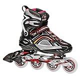 Roller Derby Aerio Q -90 Men's Inline - Patines en línea para hombre multicolor schwarz/grau/rot Talla:6
