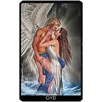 Custodia per Kindle Fire 7 pouces (2012 Version) - Angelo Custode by Illu-Pic.-A.T.Art - Mermaid Fantasy Art