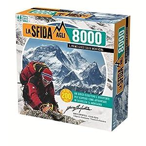 La sfida agli 8000 HDGGEP26721 - Primo Montagna, Gioco in Scatola Istruttivo e Divertente