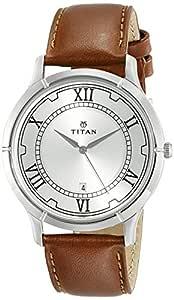 Titan Karishma Analog Silver Dial Men's Watch -NL1775SL01