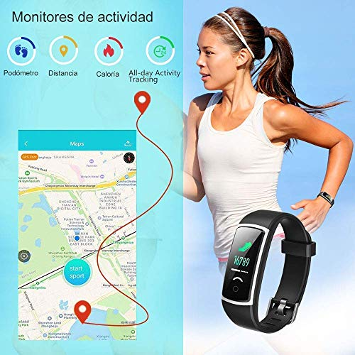 Zoom IMG-3 smartwatch orologio fitness tracker uomo
