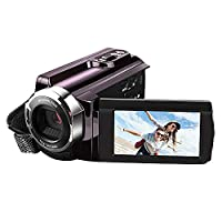 Prous CR13 Digital Camera 16X Zoom Video Recoder Night Vision Digital Camera High Quality Many Fuction Digital Recorders FHD DV HDMI Output Digital Camcorder Support Use SD TF Card With Battery,Battery Charging Wire And HMDI Wire