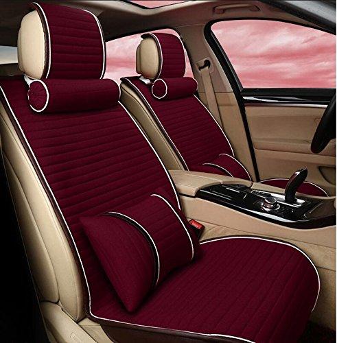 CC MS-Autositz/Sitzkissen / vier Jahreszeiten universal Auto-Sitzbezüge , red