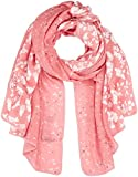 TOM TAILOR Damen Schal Lovely Print Scarf, Rosa (Wild Apricot 5467), One Size